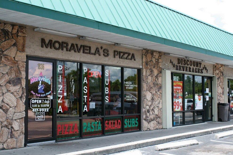 Moravela的披萨
