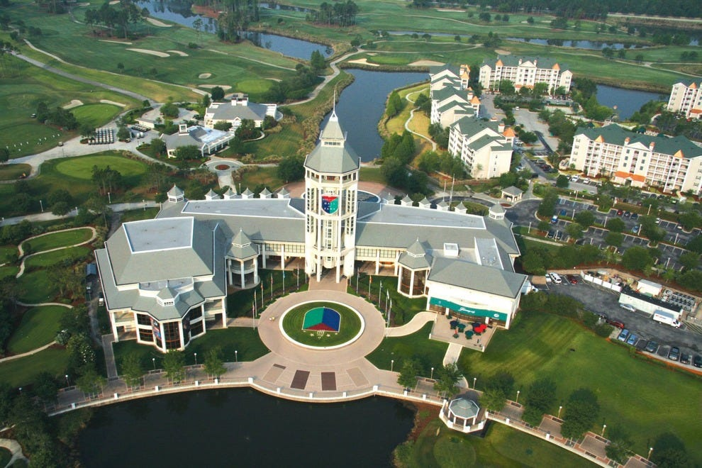 World Golf Hall of Fame in St. Augustine