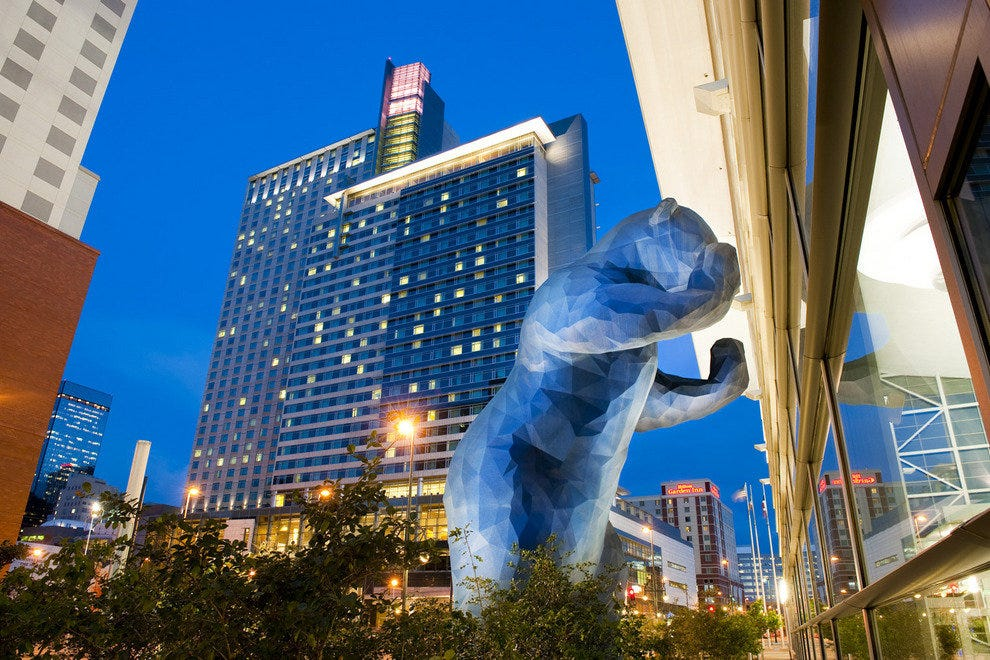 Blue Bear At Colorado Convention Center