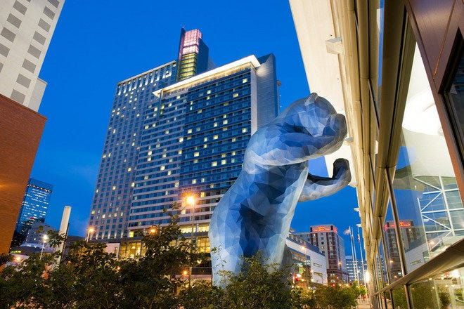 Big Blue Bear at Colorado Convention Center