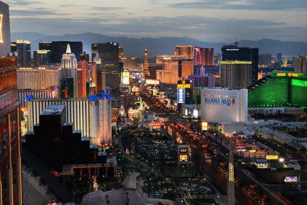 Sin City isn't just for destination weddings.