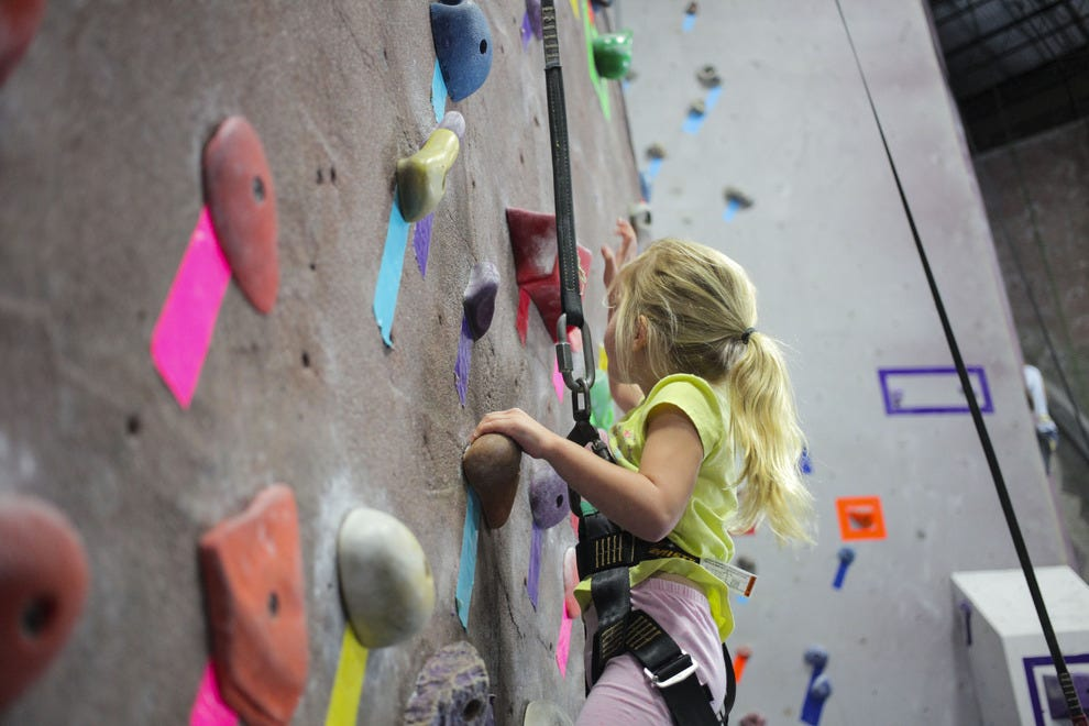 The Edge Rock Gym caters to climbers of all skill levels