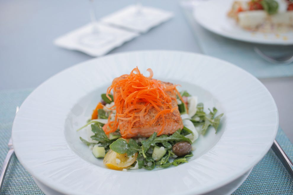 Azurea draws inspiration from the region, with influences of Europe, the Caribbean and the Americas throughout the menu