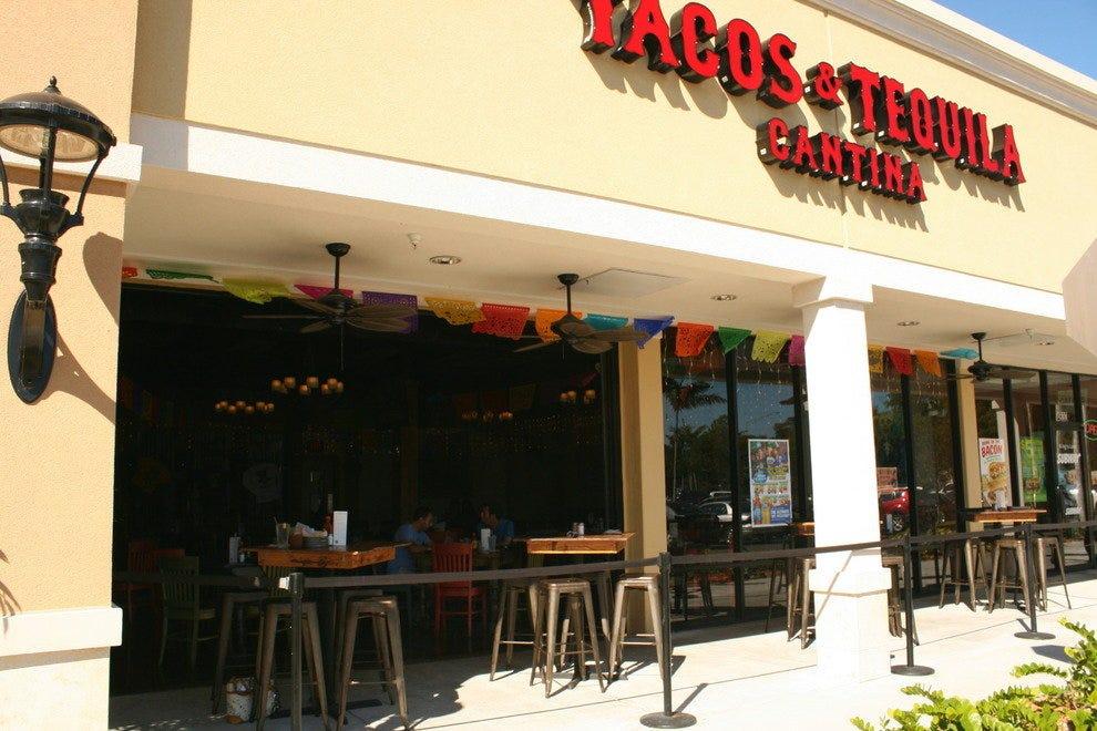塔科斯和龙舌兰酒吧
