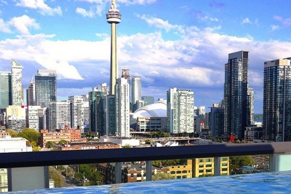 Rooftop Lounge at the Thompson Toronto