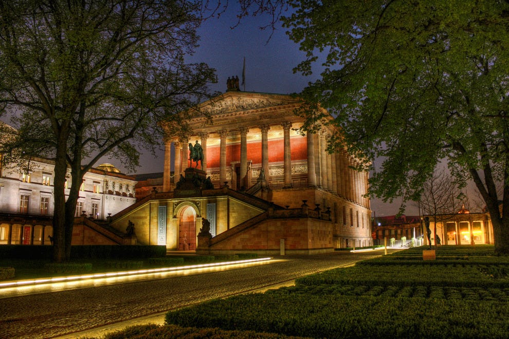 Old National Gallery in Berlin, Germany