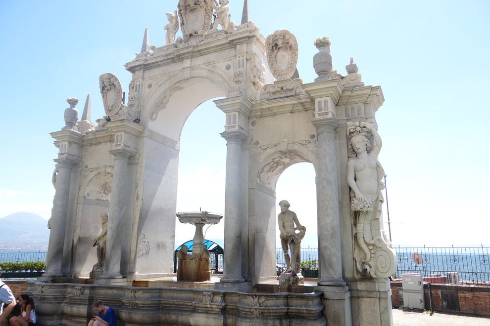 La Fontana dell'Immacolatella