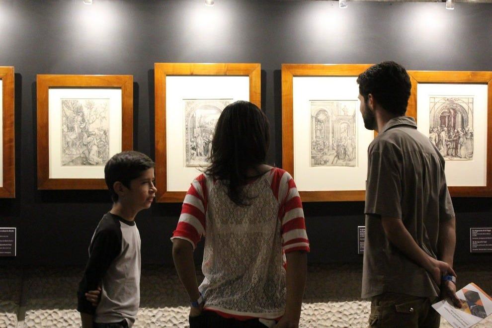 游客可以在中央银行的博物馆参观。
