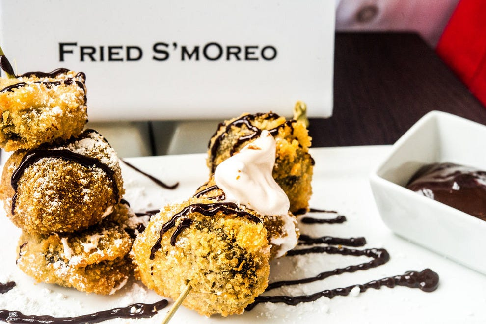 Fried S'mOreoes