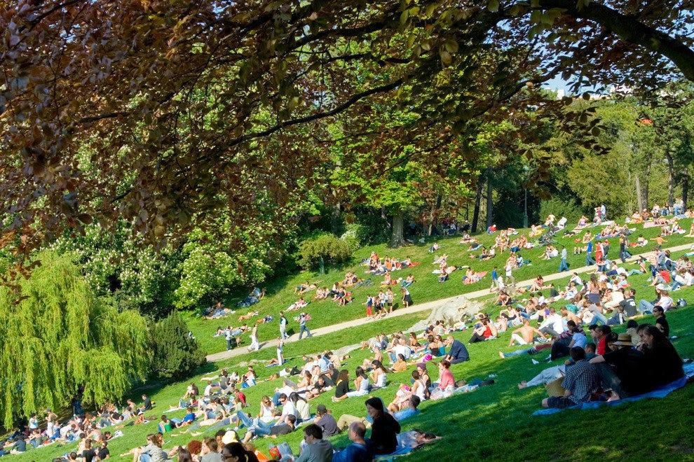Parc Des Buttes Chaumont Paris Attractions Review