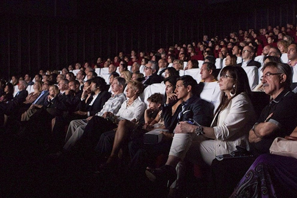 The Italian Contemporary Film Festival's well-dressed audience