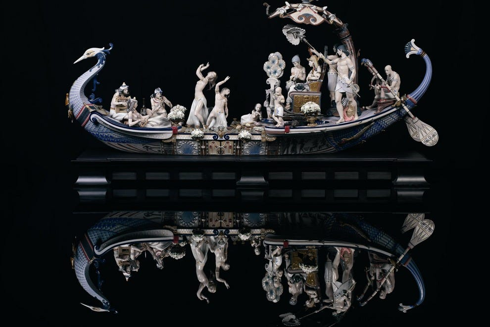 "The ambitious ""Queen of the Nile"" Lladro sculpture"