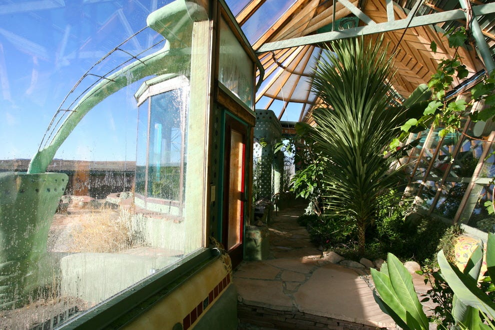 "The Earthship Biotecture in New Mexico is ""radically"" sustainable"