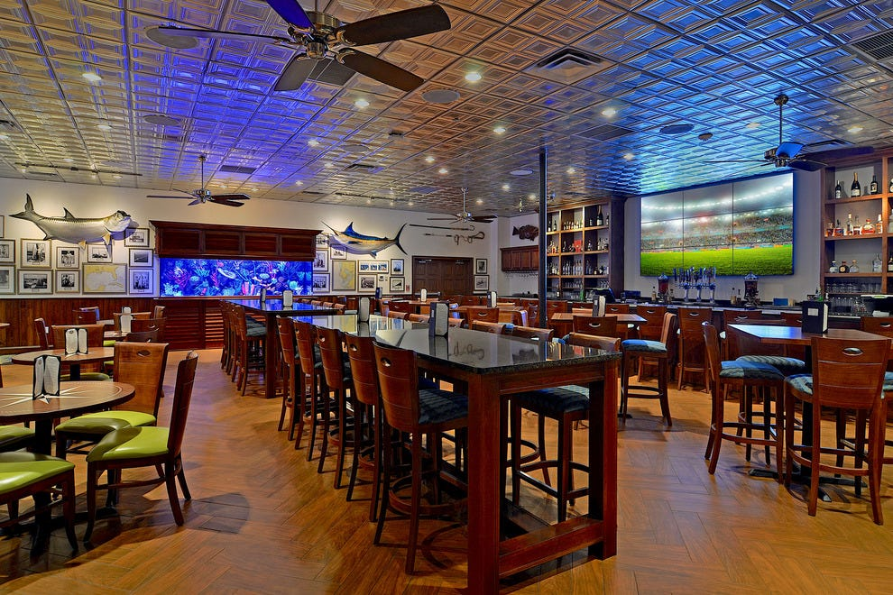 Watch the big game on a number of indoor and outdoor televisions