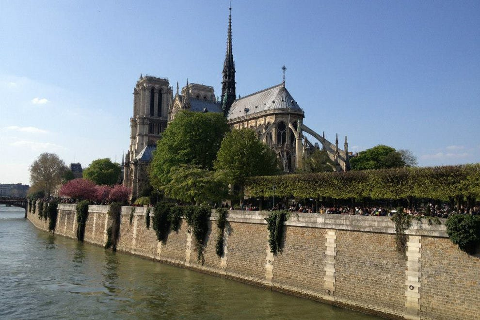 Paris is a great spot for spring or summer travel