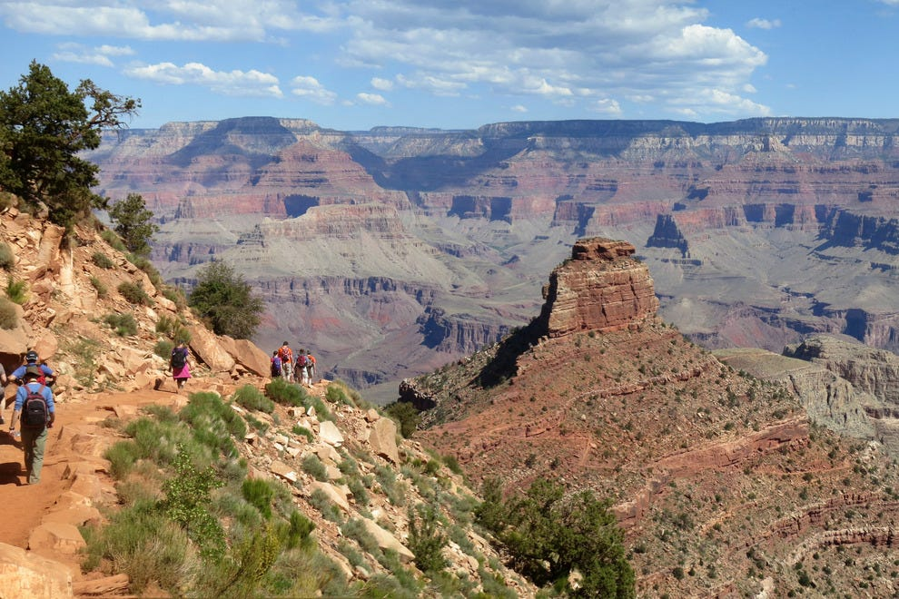 The Grand Canyon is worth the short detour off Route 66
