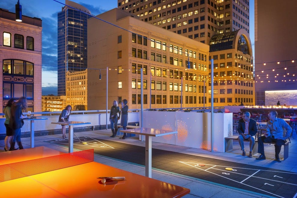 Best Hotel Rooftop Bar Winners 2015 10best Readers