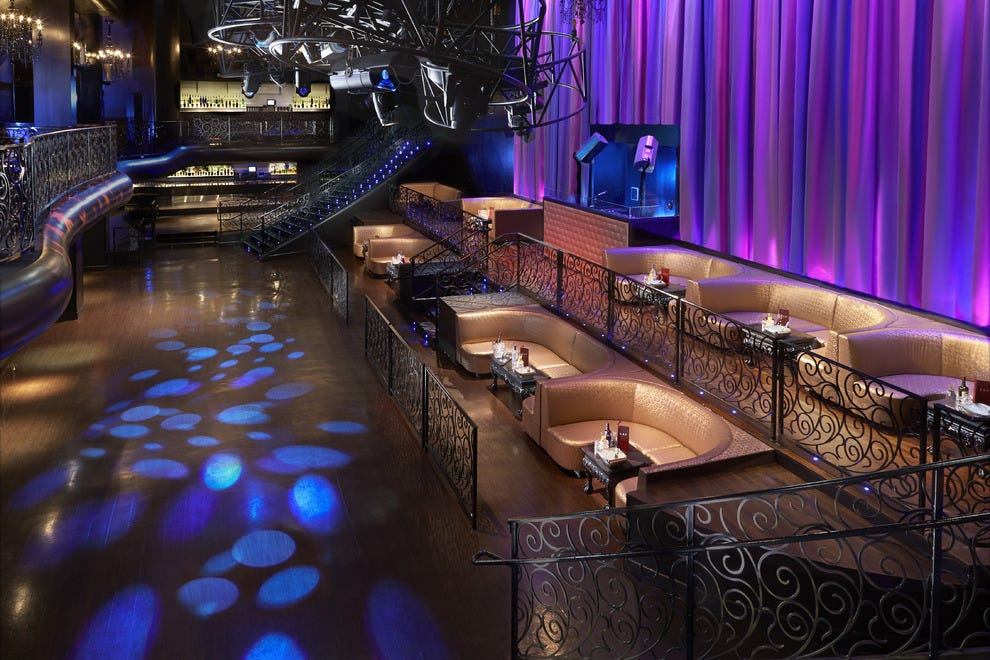 The newly expanded dance floor at LAX Nightclub