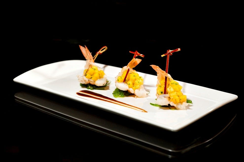 Blanc Asia serves Asian cuisine prepared with Latin American influences