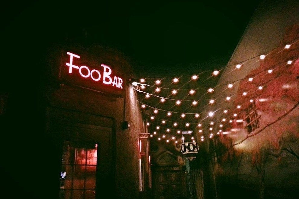 Foo Bar和Lotus Gallery