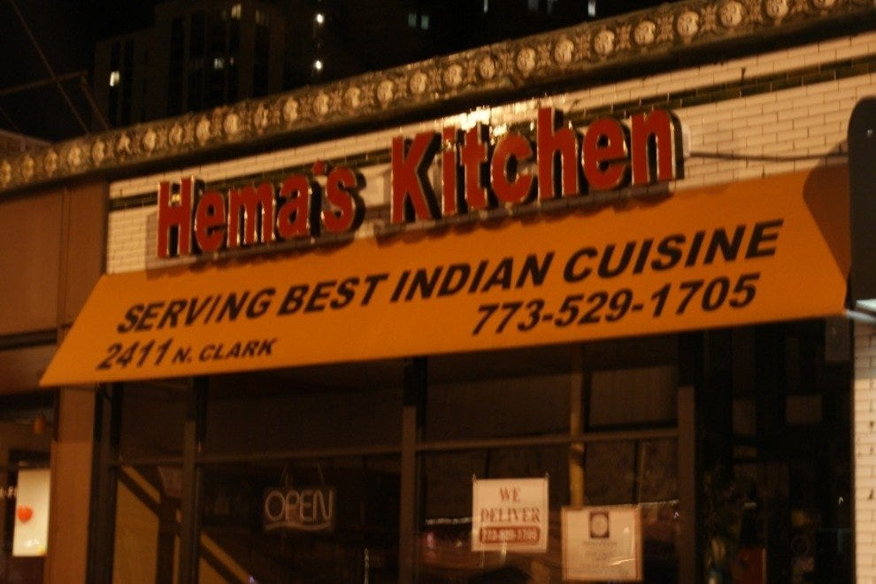 A Friendly Family Run Business With Excellent But Sometimes Very Y Food Hema S Kitchen Is Standout Among The Indian Restaurants On Devon Avenue