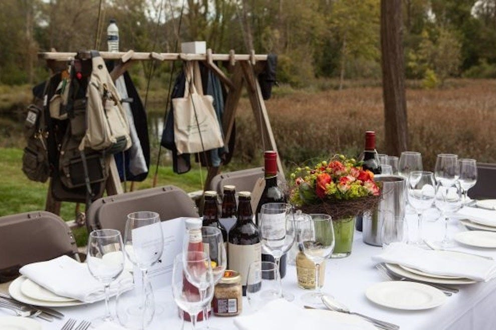 The Greyhound on the Test offers the best of English foodie prestige and rustic outdoor adventure