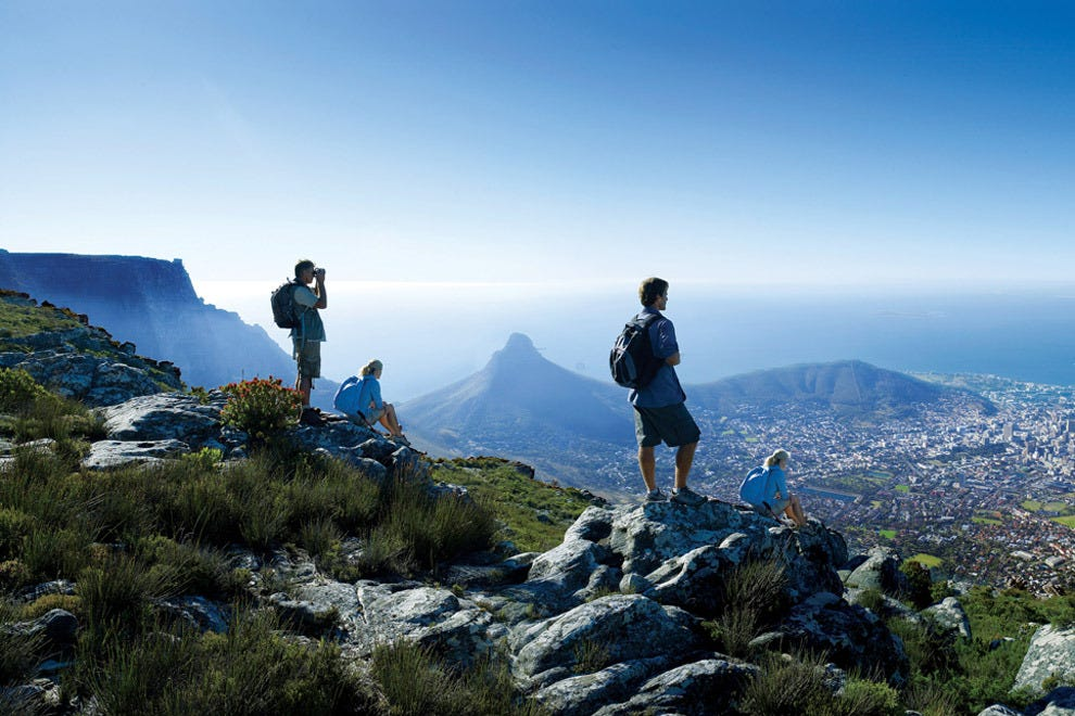Hike Table Mountain in Cape Town
