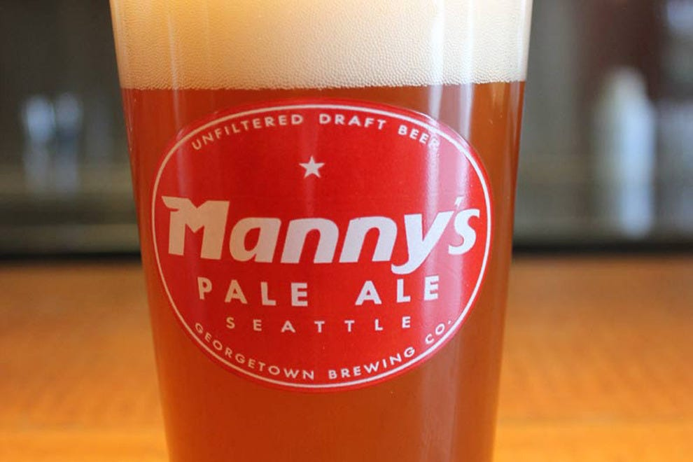 Manny's Pale Ale, Georgetown Brewing