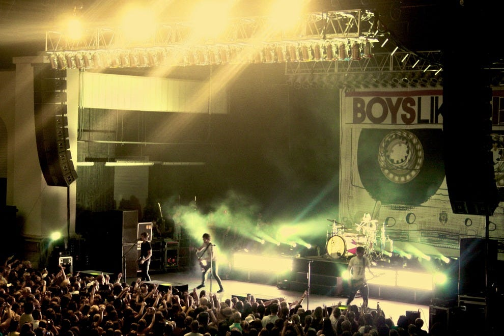 Boys Like Girls concert at St. Augustine Amphitheatre