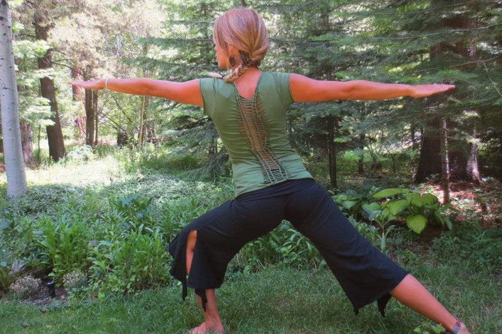 Dia Yoga's clothing can be worn on and off the mat