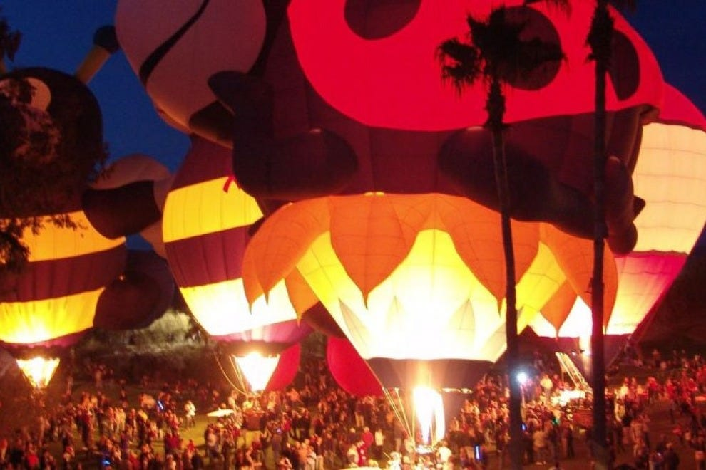The Cave Creek Balloon Festival kicks off summer with live music, tasty eats and hot air balloons