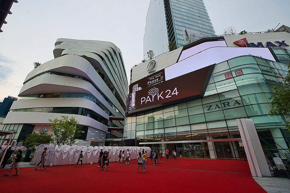 Welcome To Emquartier Bangkok Luxury Mall Opens With Red