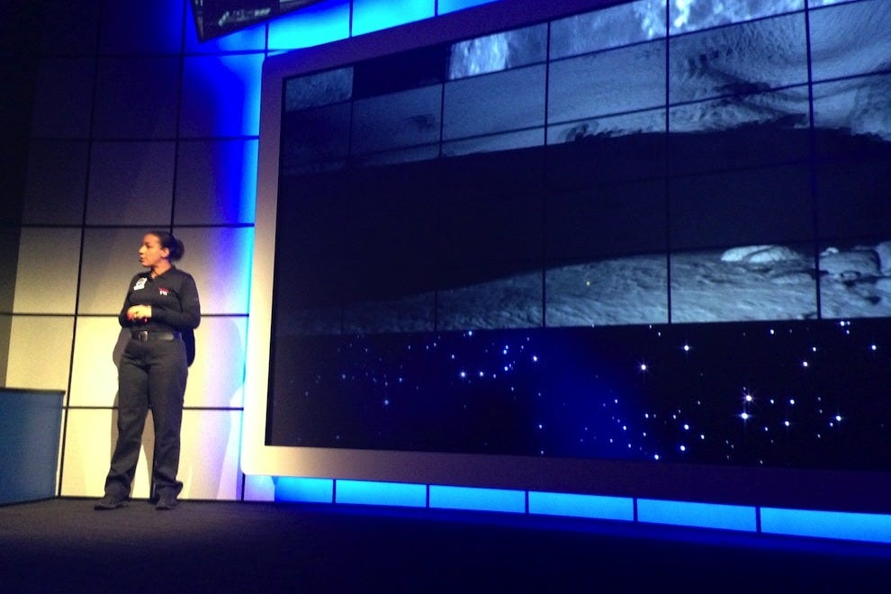 The Kennedy Space Center offers various space talks