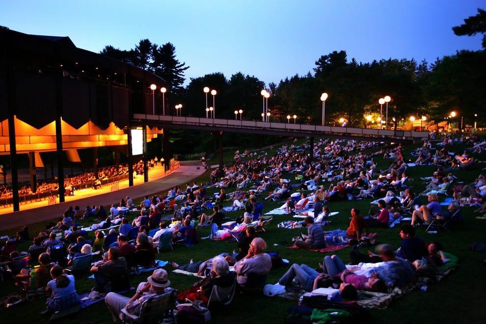 Saratoga Performing Arts Center N Y