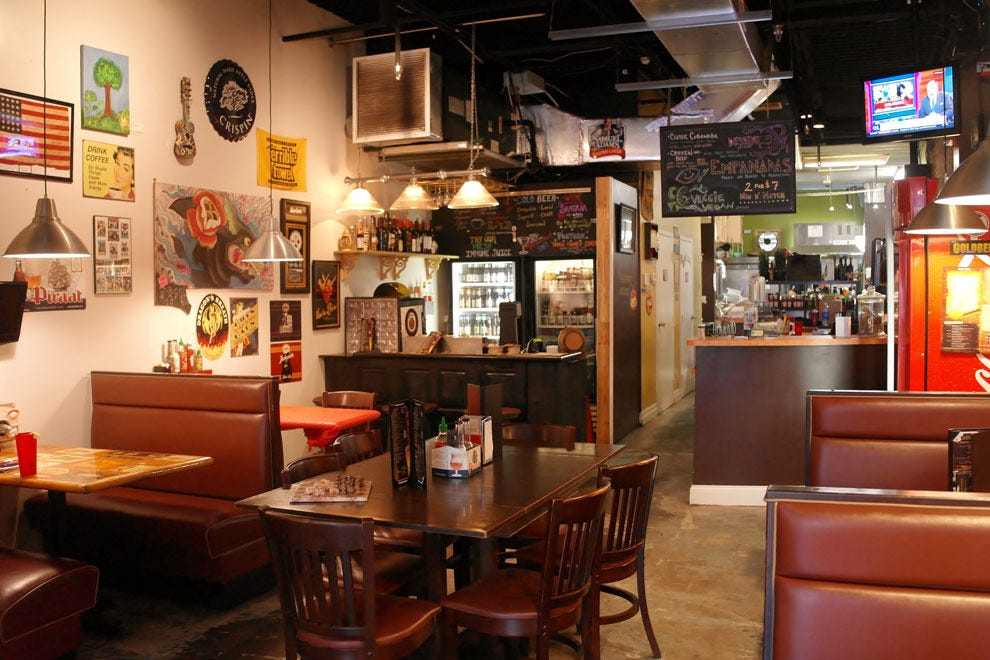 The Stone Soup Company offers a friendly,comfortable spot for a casual meal in the heart of Ybor City