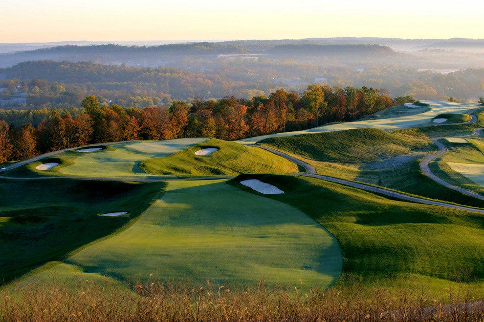 The Pete Dye Course at French Lick Resort