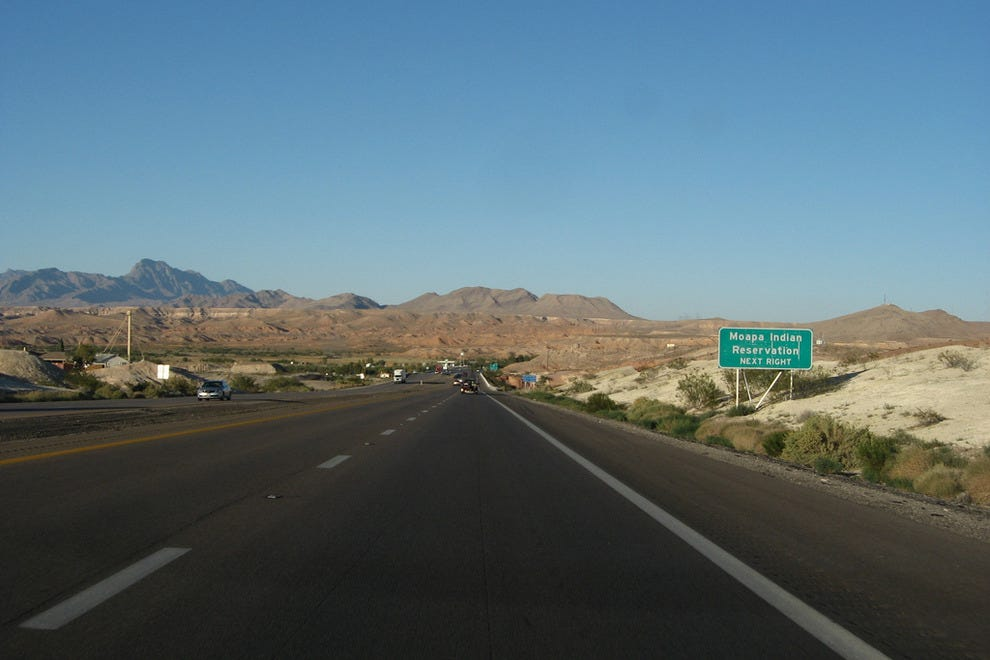The Moapa Indian Reservation
