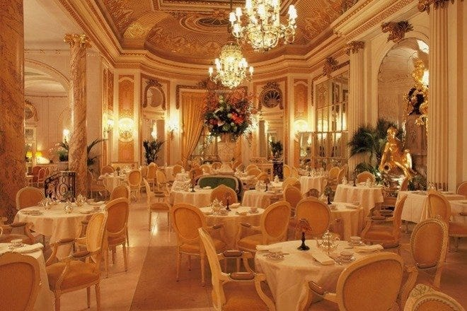 The Palm Court at The Ritz