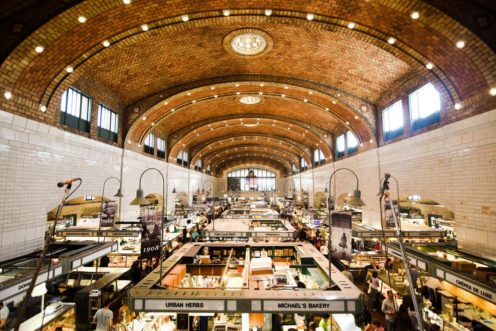 The West Side Market in Cleveland's Ohio City