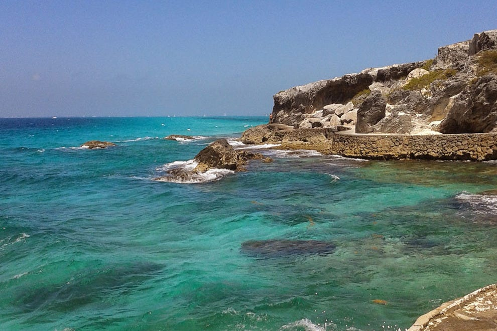 Punta Sur is the highest point on the Yucatan Peninsula