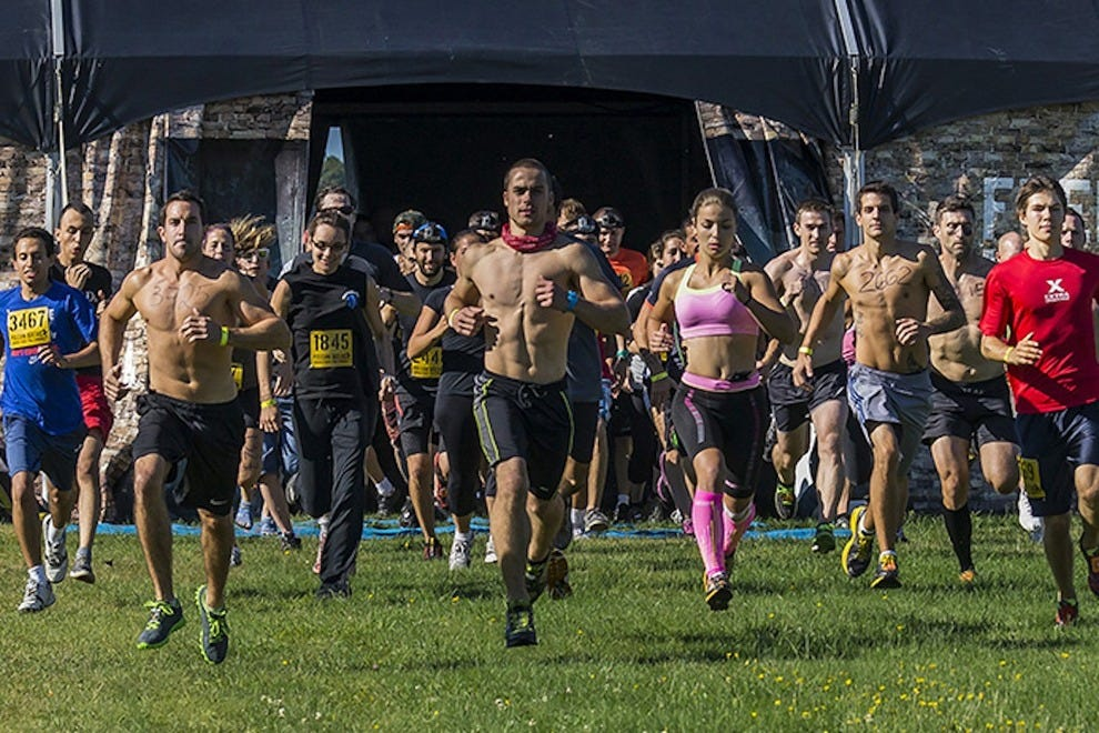 Don't be fooled by the hard bodies in the front; this race is for everyone