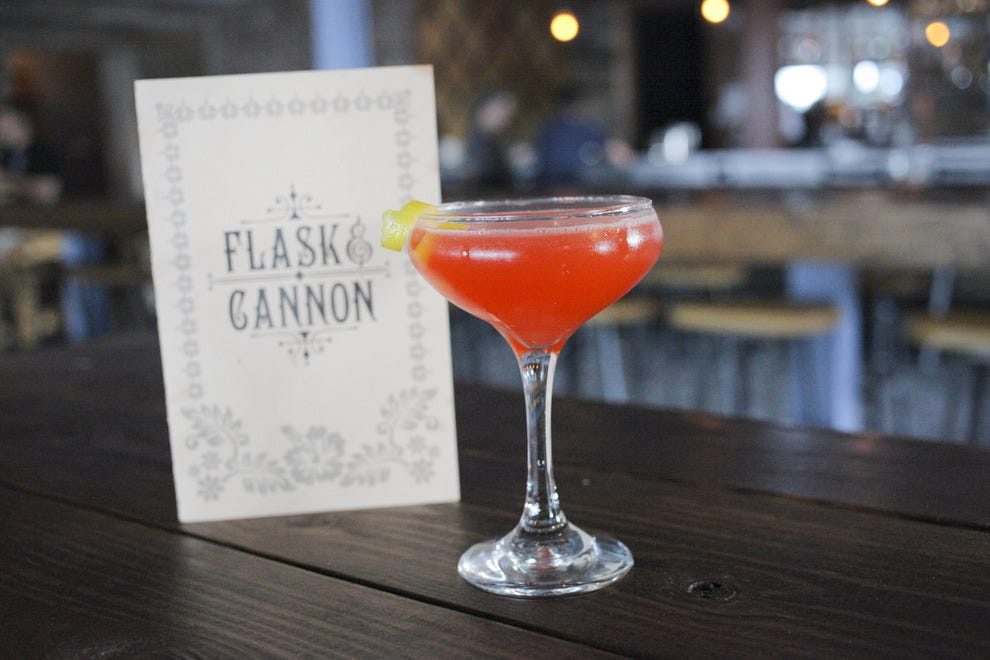 Hand-crafted cocktails at Flask & Cannon prove that rum-based drinks don't all have to be overly sweet