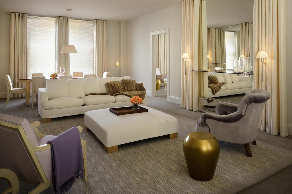 Clift Hotel suite