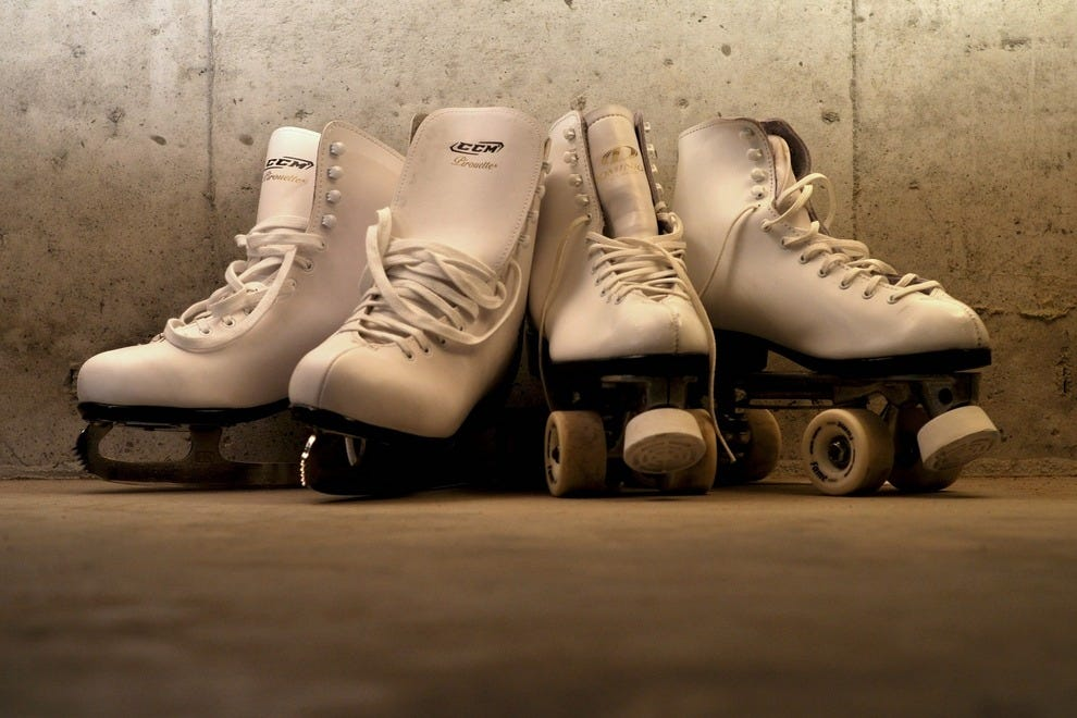 Ice skating in the wintertime and roller skating in the summertime make Philly's RiverRink perfect no matter when you go