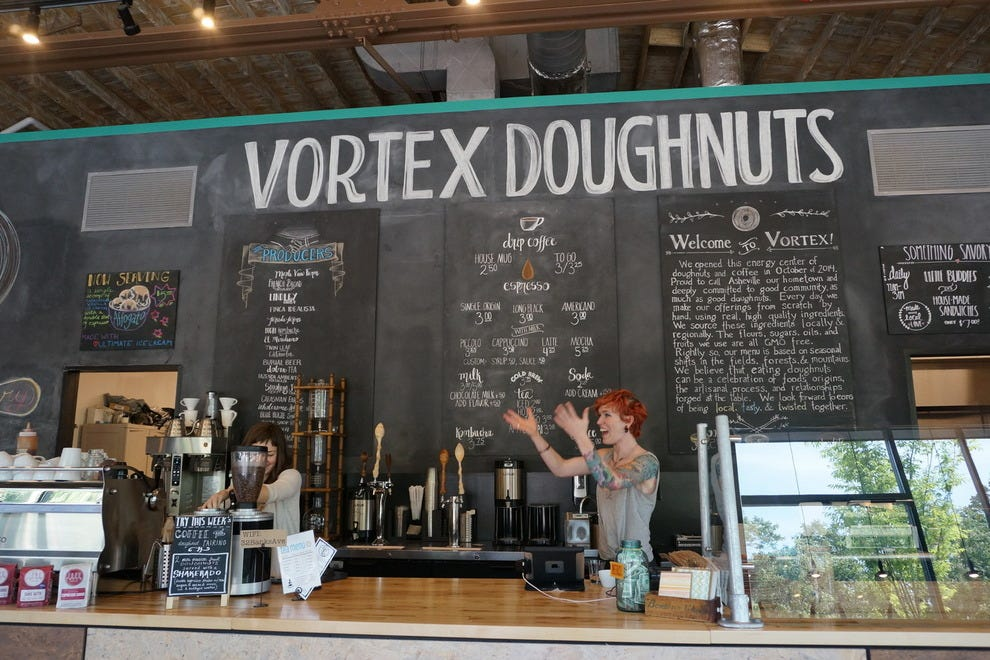 Vortex makes cake and yeast doughnuts from scratch daily
