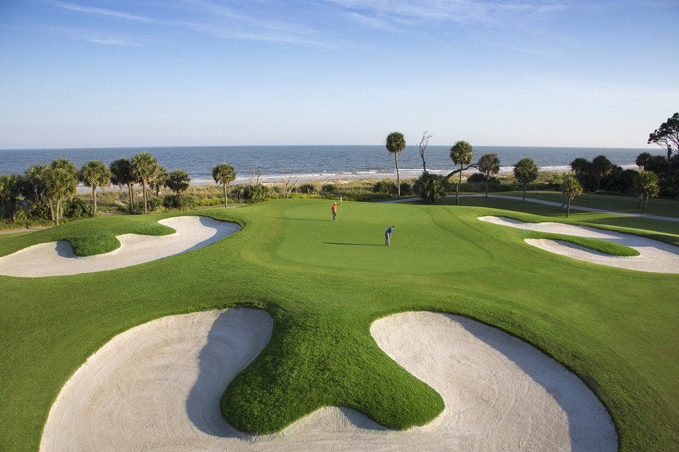 Palmetto Dunes Golf Courses