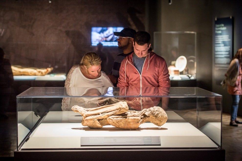 这位来自秘鲁的自然木乃伊,在她去世的18到21年间,今天大约550岁