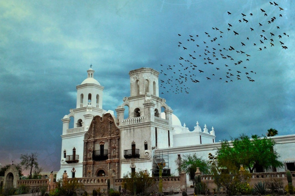 The Mission San Xavier
