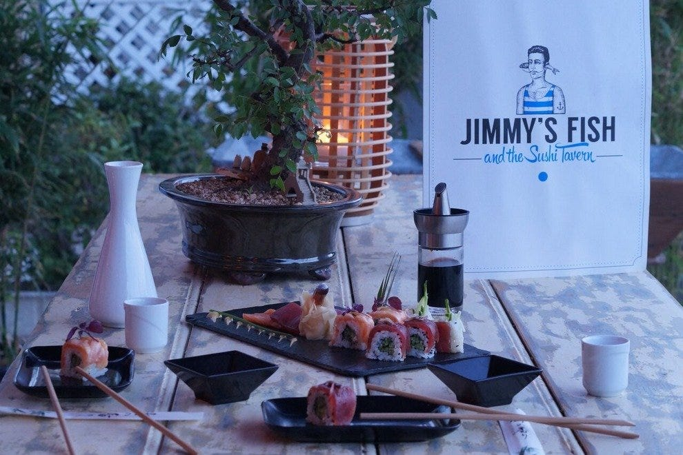 Jimmy's Fish and the Sushi Tavern