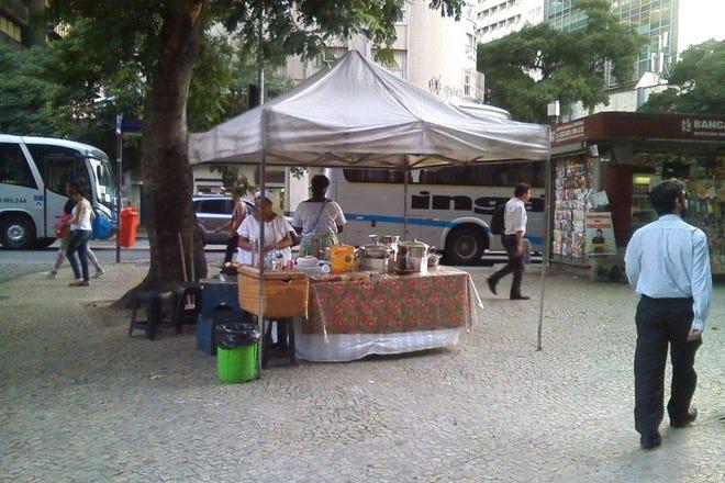 Street Food in Rio de Janeiro